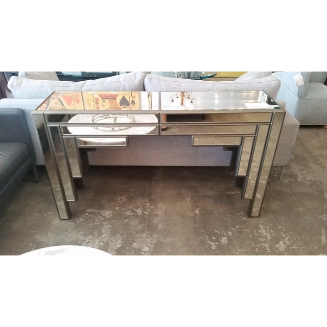 C1970s Mirrored Console - Image 3 of 7