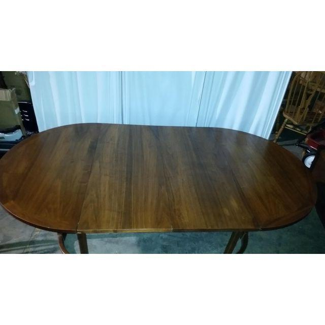 Lane Rhythm Round Dining Table Leaf Pads For Sale - Image 11 of 11
