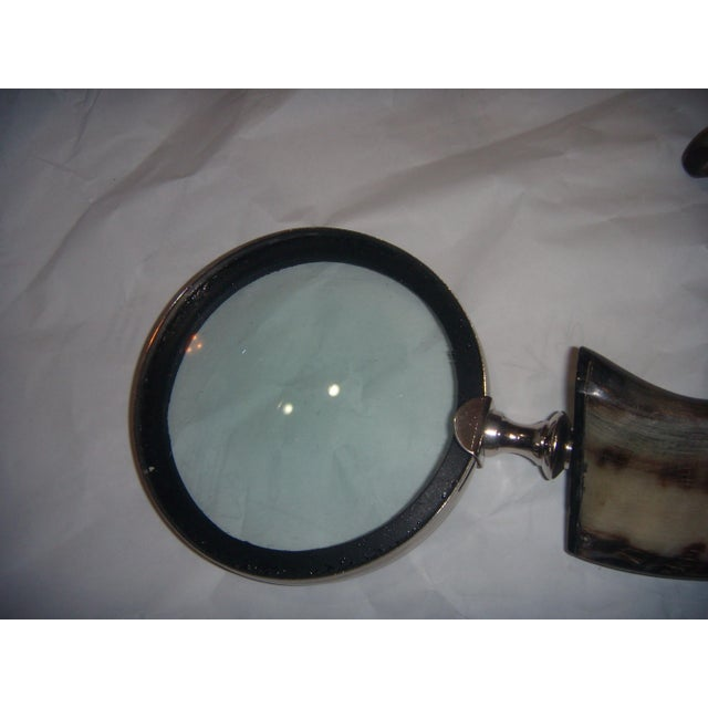 Horn Handle Magnifying Glass - Image 3 of 5