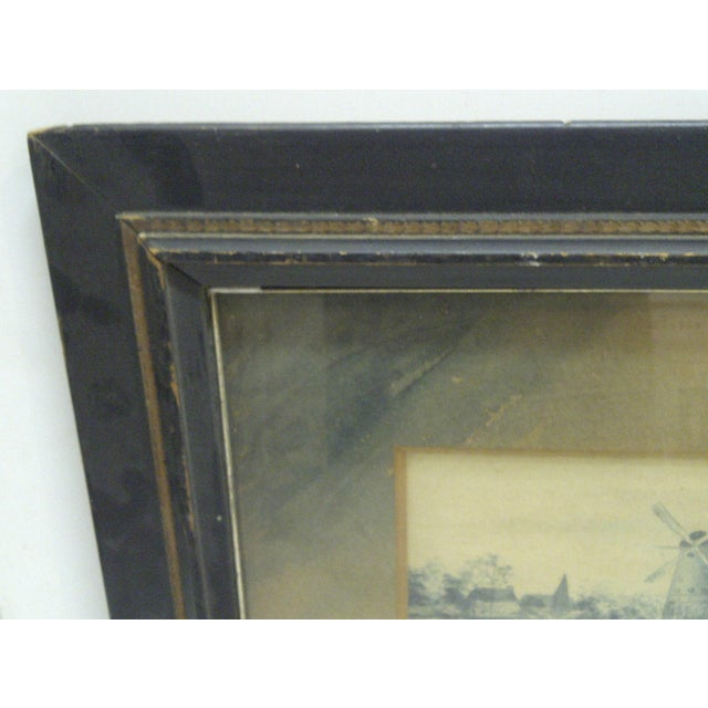 Circa 1890 The Windmill Drawing by Georgie Lacock For Sale - Image 5 of 6