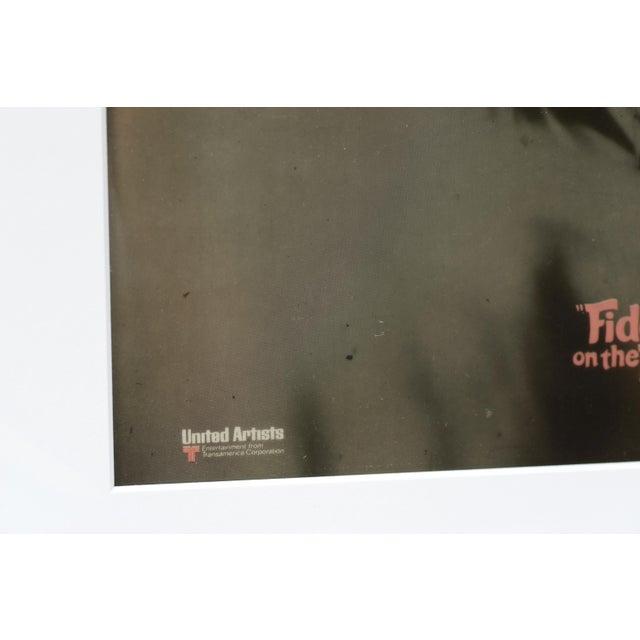 Fiddler on the Roof, 1971 / Original Vintage Movie Advertisement Art Transparency, Pink Version For Sale - Image 4 of 6