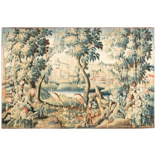Antique Verdure Tapestry 'Fragment' For Sale