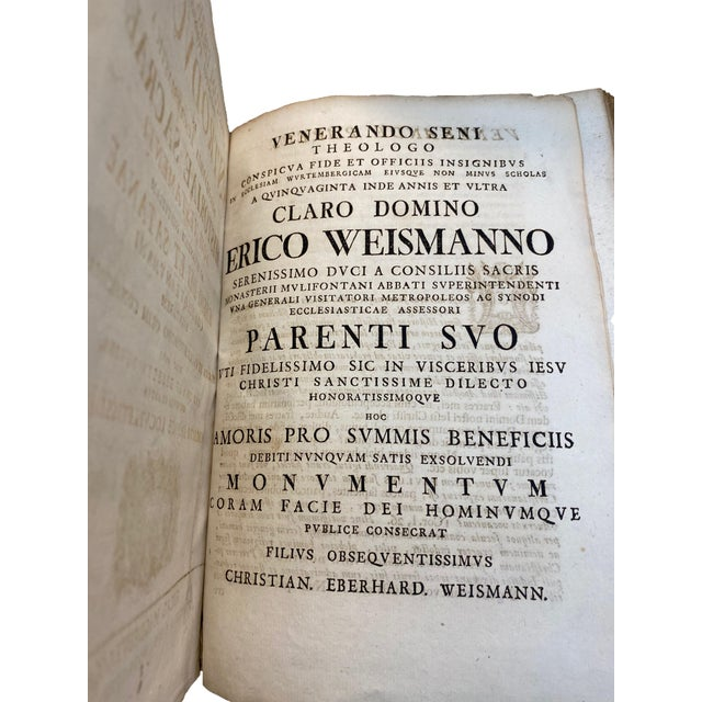 Large 18th Century Italian Vellum Religious Book For Sale - Image 10 of 12