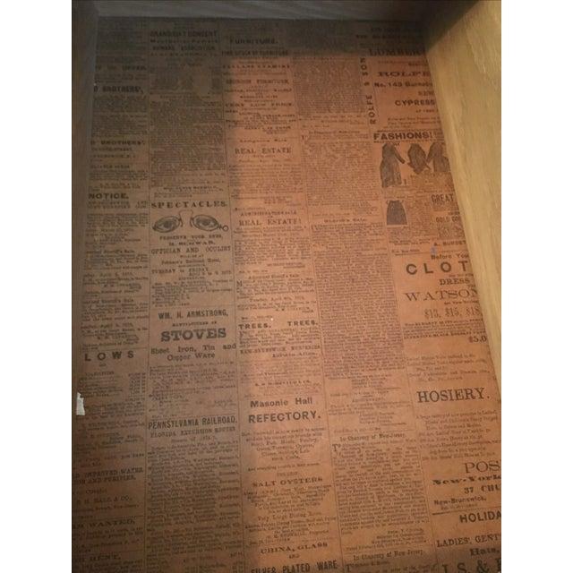 Hekman Spanish Trestle Desk/Writing Table - Image 4 of 5