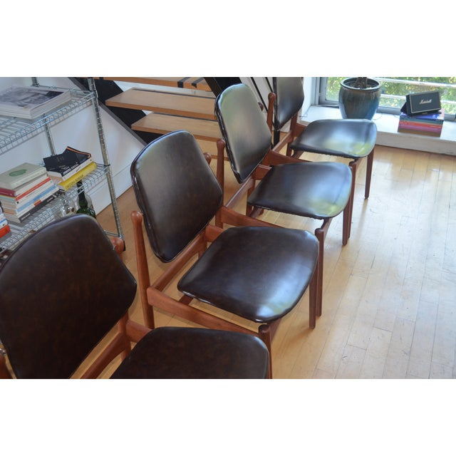 Arne Vodder Mid-Century Chairs - Set of 4 - Image 4 of 9
