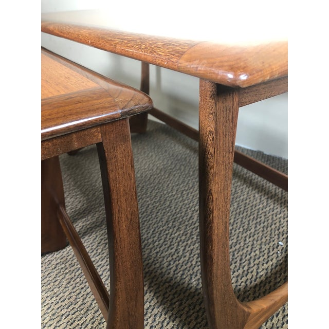 Mid Century Teak Coffee and Nesting Table Set by G Plan For Sale - Image 10 of 13
