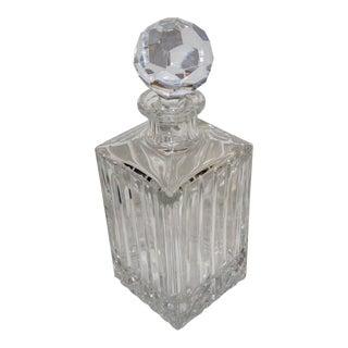 Vintage Rogaska Crystal Decanter For Sale