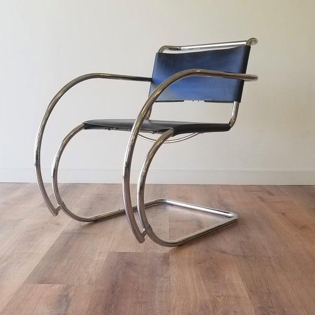 Ludwig Mies Van Der Rhoe 1970s Mr 20 Chair - Attributed For Sale - Image 13 of 13