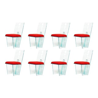 """""""Wisteria"""" Chairs by Charles Hollis Jones - Set of 8 For Sale"""