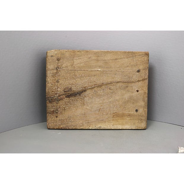 Cottage Antique French Rustic Cheese Set For Sale - Image 3 of 5