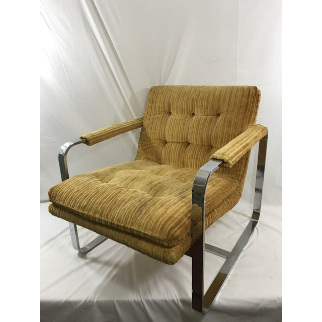 Milo Baughman Arm Chair For Sale - Image 9 of 9