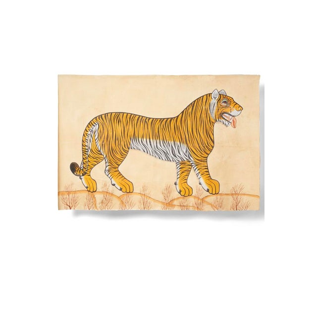 1980s Tiger Painting For Sale In Los Angeles - Image 6 of 6