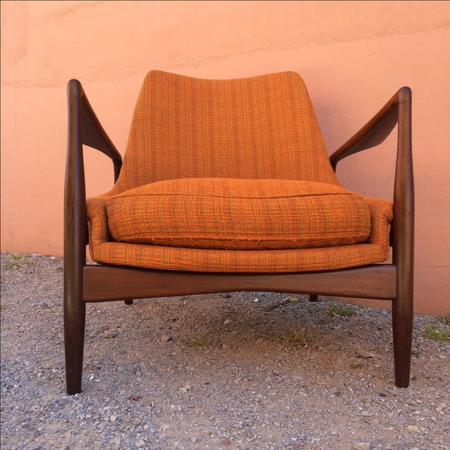 Rare Ib Kofod-Larsen 'Seal' Easy Chair For Sale - Image 7 of 10