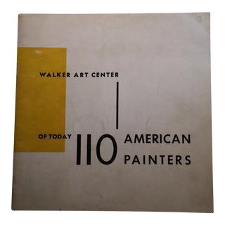 110 American Painters of Today, Walker Art Center For Sale