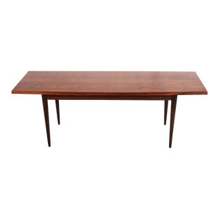 Danish Rosewood Conference Table, 1960s For Sale