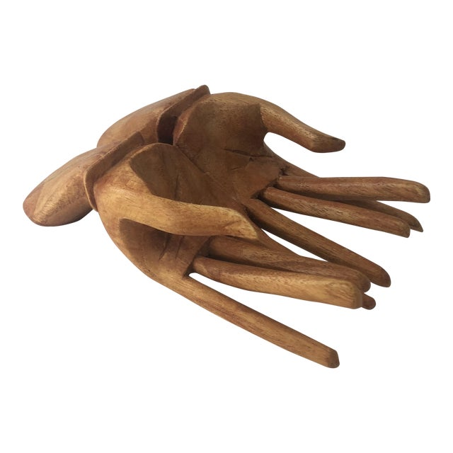 Wooden Hand Card Holder For Sale