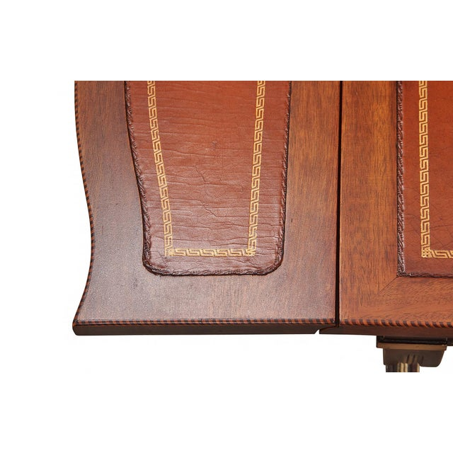 1960s Regency Style Drop-Leaf Coffee Table For Sale - Image 5 of 8