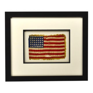 Antique 44 Star American Flag Circa 1890 For Sale