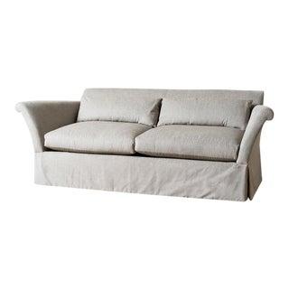 Mid-Century Modern Gray Bobby Sofa