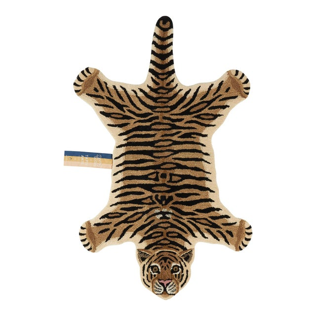 Doing Goods Drowsy Tiger Rug Large For Sale - Image 6 of 6