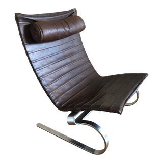Poul Kjærholm Early Pk20 Lounge Chair For Sale