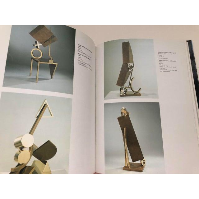 Paper Fletcher Benton Sculpture Hardback For Sale - Image 7 of 13
