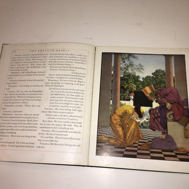 1st Ed 1925 the Knave of Hearts Maxfield Parrish For Sale - Image 9 of 11