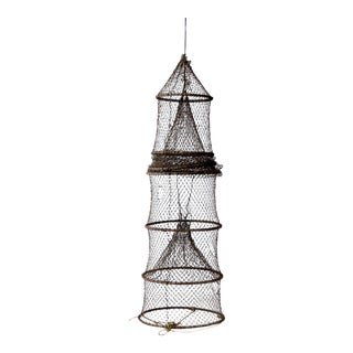 Vintage Fyke Fishing Net