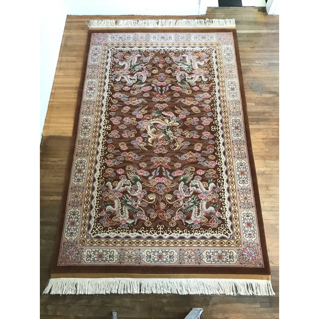 My family used to have a oriental rug company, designing and selling high quality hand knotted wool and silk rugs. This...