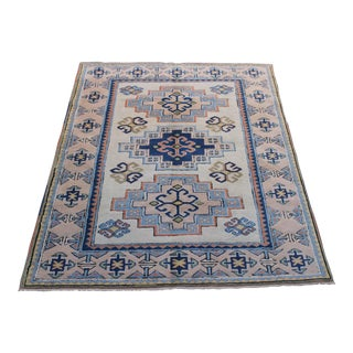 Turkish Anatolian Area Rug - 6' X 7'2""