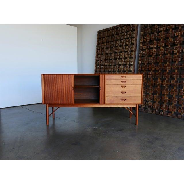1960s Peter Hvidt & Orla Mølgaard Nielsen Credenza For Sale - Image 9 of 13