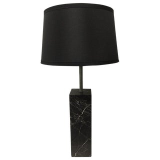Italian Marble Table Lamp For Sale