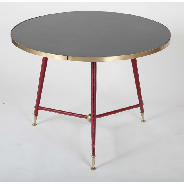 Pair Of Jules Leleu Side Tables For Sale - Image 10 of 13
