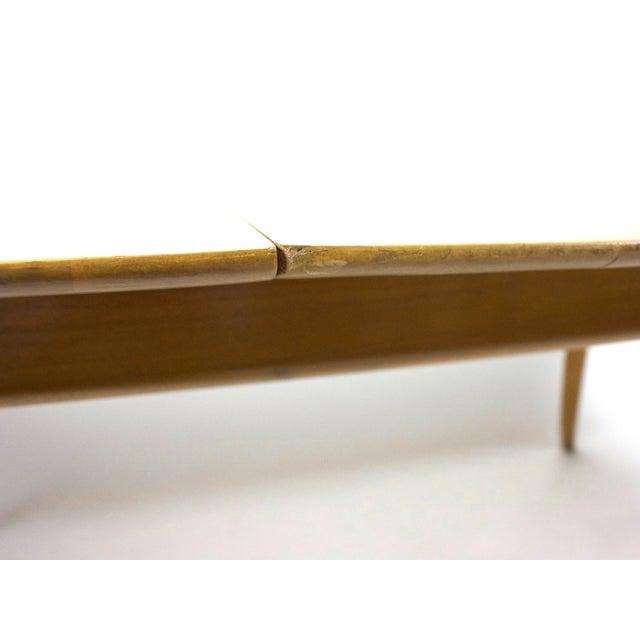 Brown 1950s Mid-Century Modern T.H. Robsjohn-Gibbings for Widdicomb Dining Table For Sale - Image 8 of 13