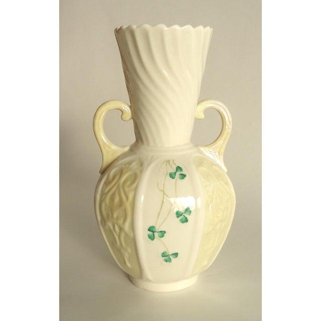 Vintage Irish Belleek Vase Chairish
