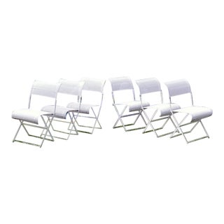 Set of 6 Fermob Side Chairs For Sale