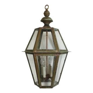 Hanging Copper Lantern For Sale