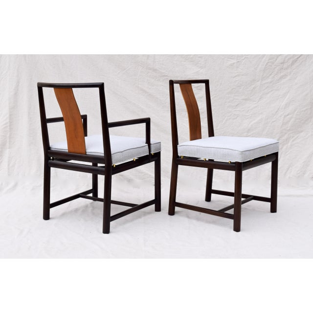 1960s Vintage John Stuart Dining Chairs- Set of 14 For Sale - Image 10 of 13