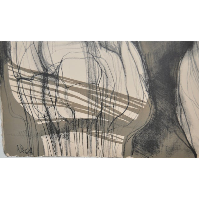 Arnold Belkin Mid Century Modern Lithograph 1964 - Image 5 of 5