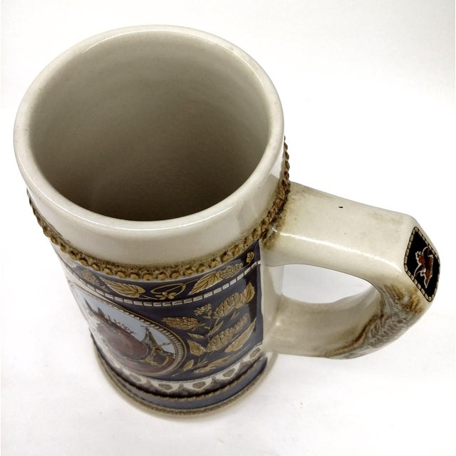 Vintage Anheuser Busch Stoneware Beer Stein For Sale In Boston - Image 6 of 8