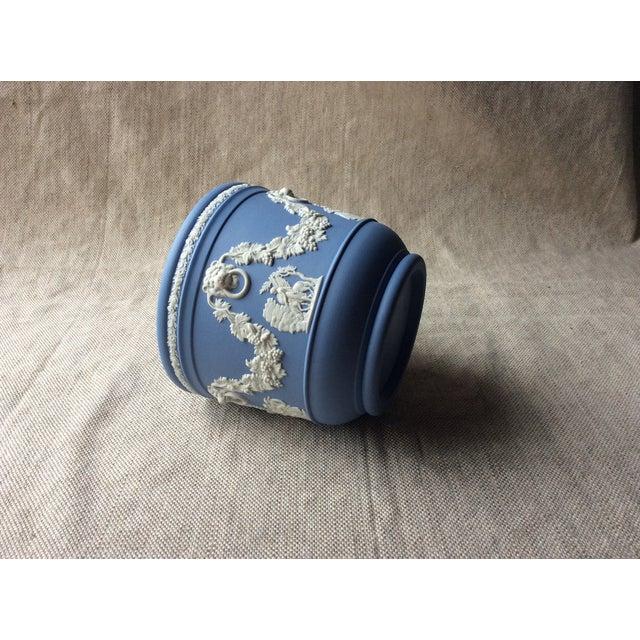 Wedgewood Blue Jasperware Cachepot For Sale - Image 9 of 10