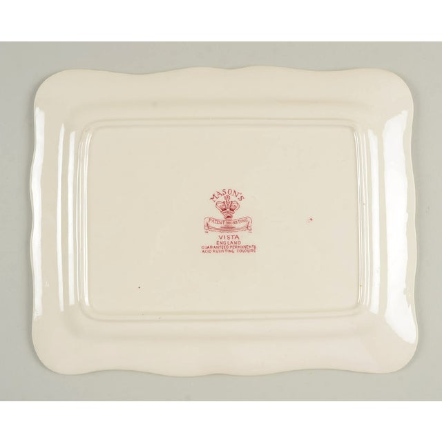 Ceramic Mason's Vista Pink Large Cheese Dish With Lid For Sale - Image 7 of 8