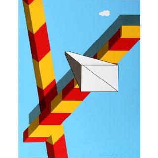 """Allan D'Arcangelo, """"Landscape"""", Pop Art Screenprint For Sale"""