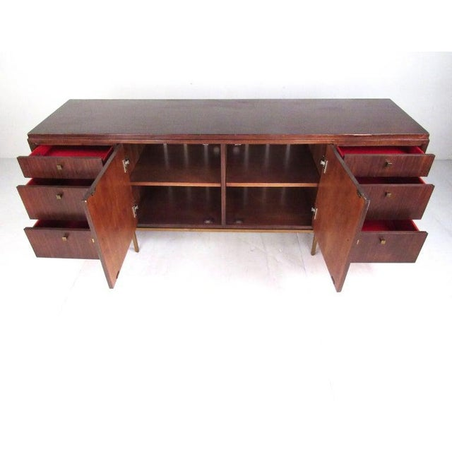 Contemporary Large Contemporary Modern Credenza For Sale - Image 3 of 13