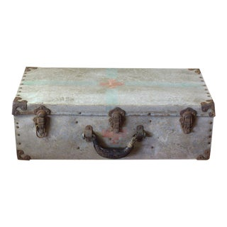 Vintage Military Hospital Trunk For Sale