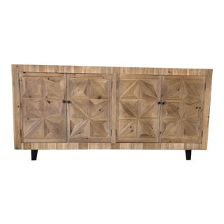 Contemporary Etoile Parquet Sideboard For Sale
