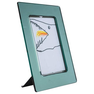 Glass Picture Frame by Gardella for Azucena For Sale