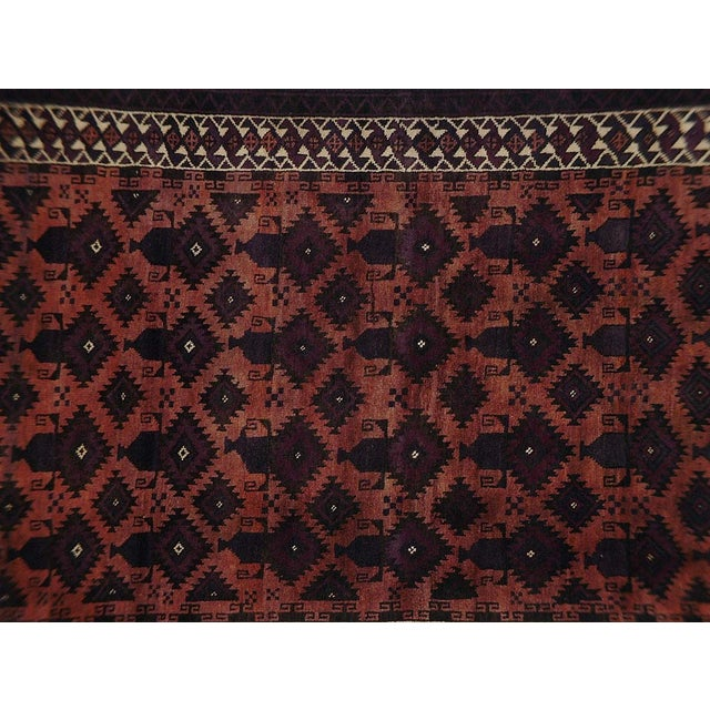 Vintage Persian rug featuring a beautiful, all-over pattern. 100% handmade, wool pile. Excellent condition, ready to be...