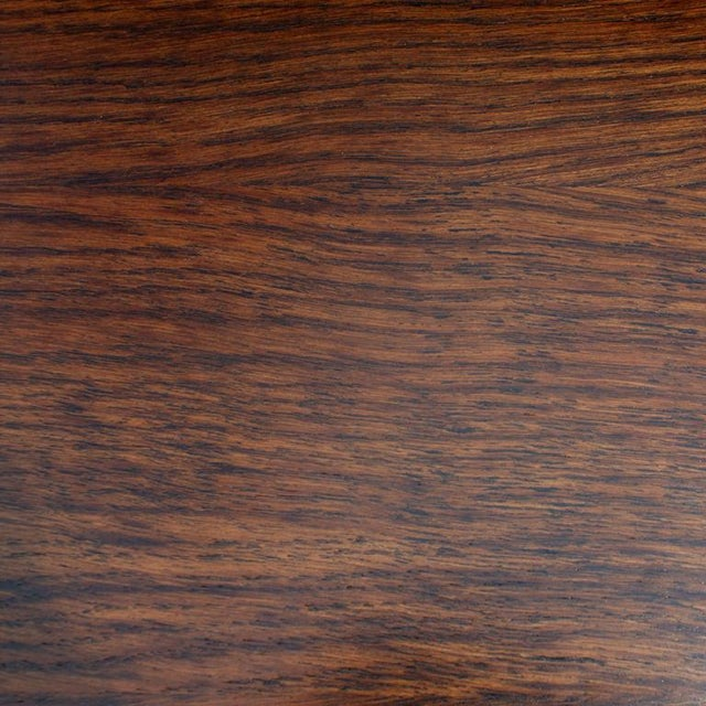 Mid Century Oak and Leather Desk by Lydia dePolo for Dunbar For Sale In Houston - Image 6 of 9