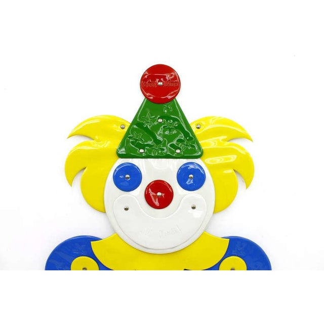 """Otto Zapf Large Plastic Decor Clown """"I Like It Soft"""" by Guenther Kieser for Zapf, Softline, 1971 For Sale - Image 4 of 10"""